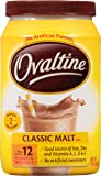 Nestle Ovaltine Classic Malt Beverage, 12-Ounce Canisters (Pack of 6)
