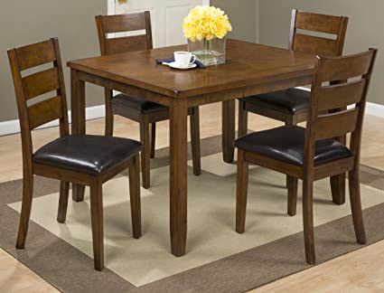 Amazon.com - Jofran: 591, Plantation, 5 Pack Dining Table Set ...