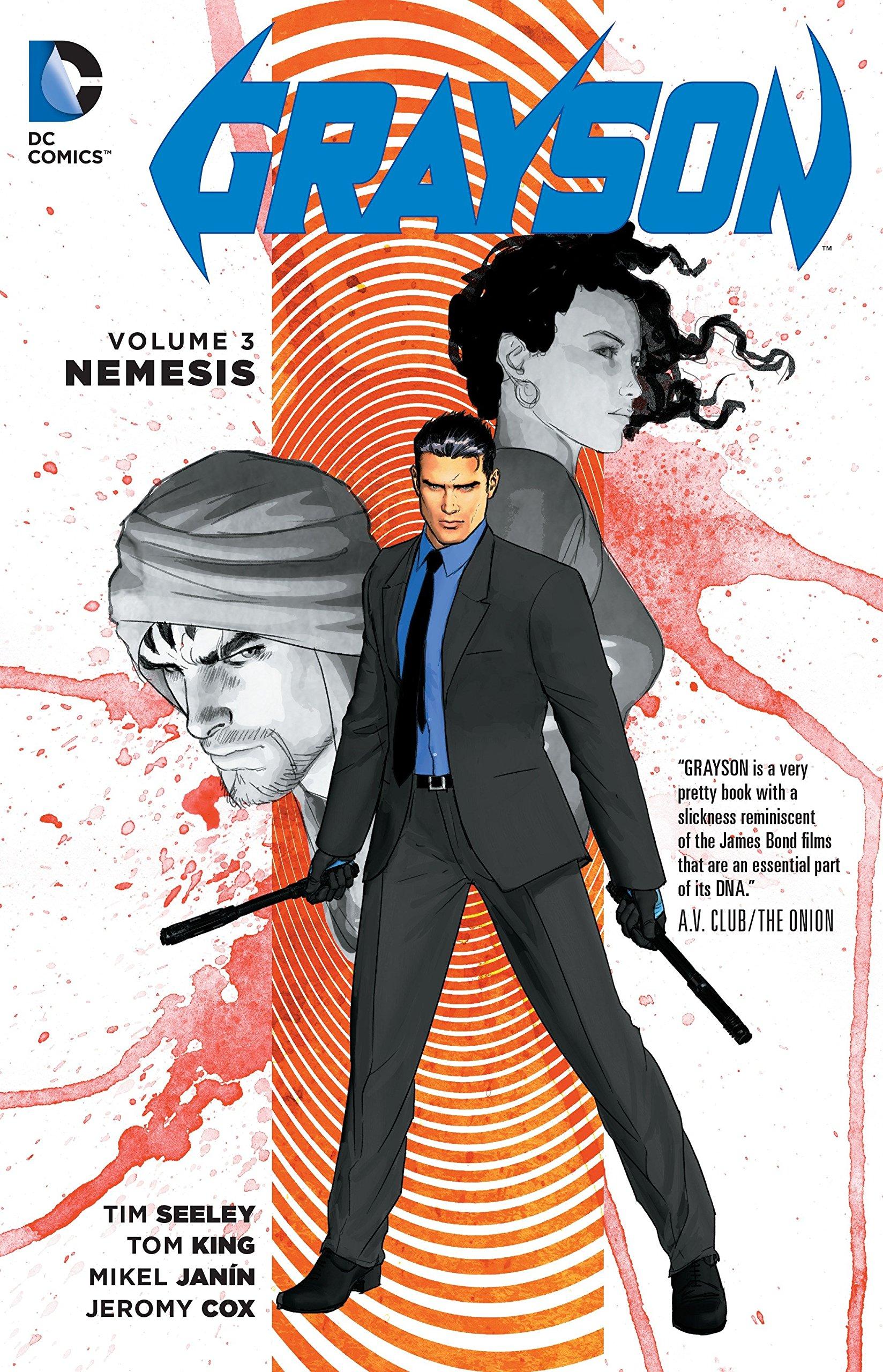 Grayson Vol. 3: Nemesis by imusti