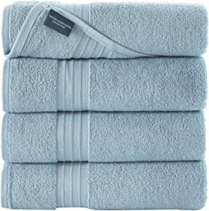 "Qute Home Bosporus Collection 27""x54"" Bath Towels 