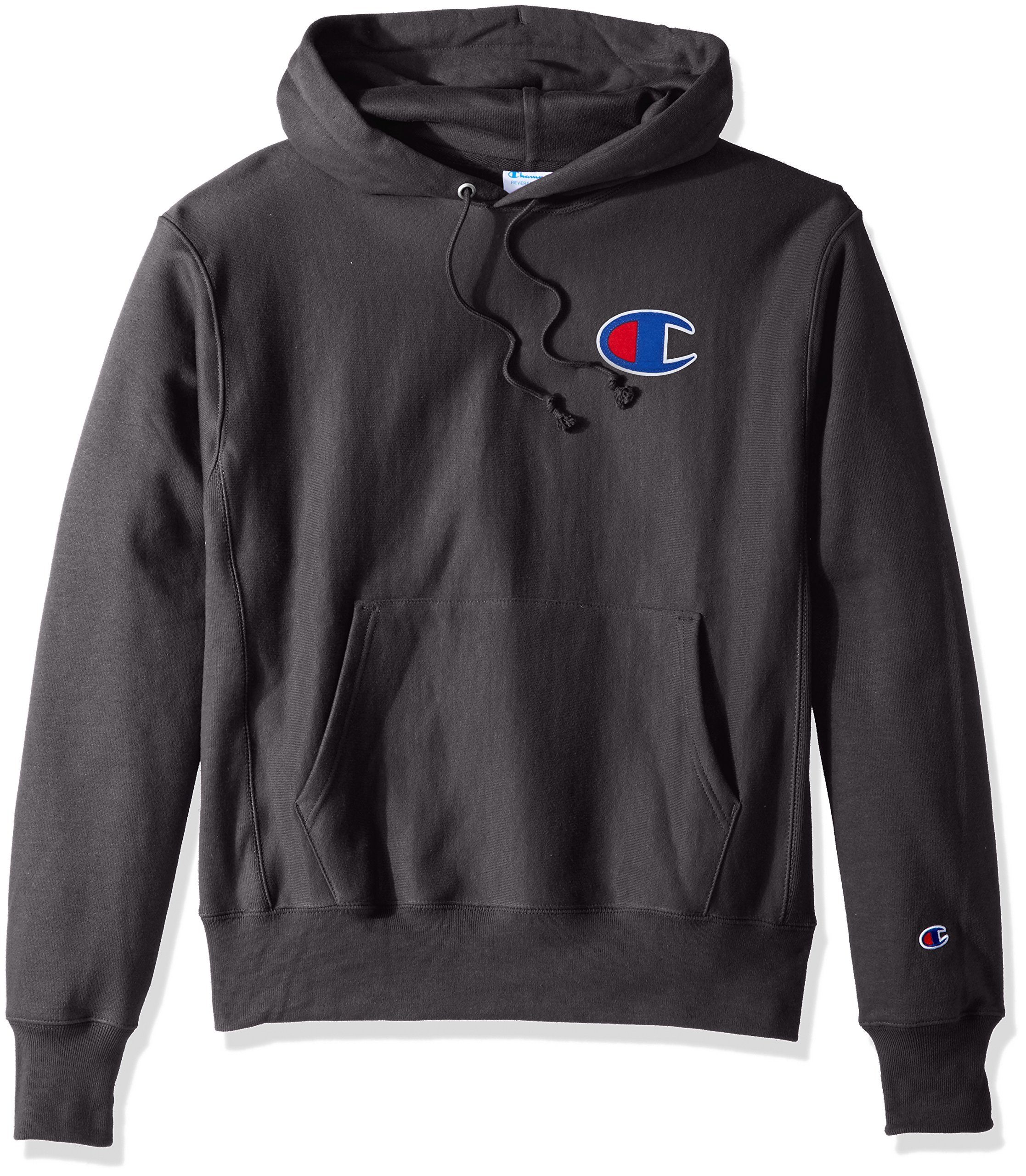 "Champion Life Men/'s Reverse Weave Graphic Pullover Hoodie Big /""C/"" Logo"