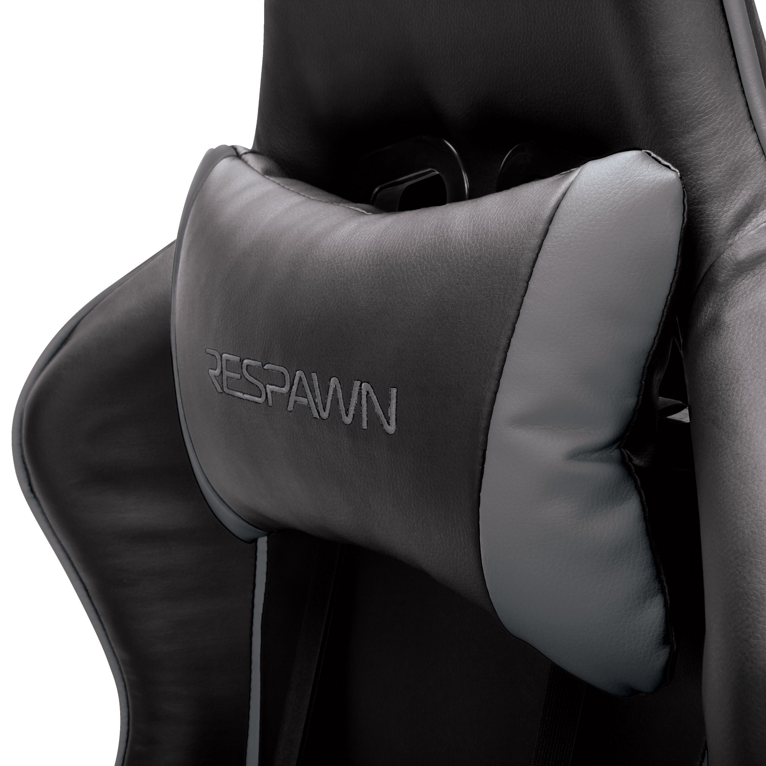 RESPAWN-105 Racing Style Gaming Chair - Reclining Ergonomic Leather Chair, Office or Gaming Chair (RSP-105-GRY) by RESPAWN (Image #4)