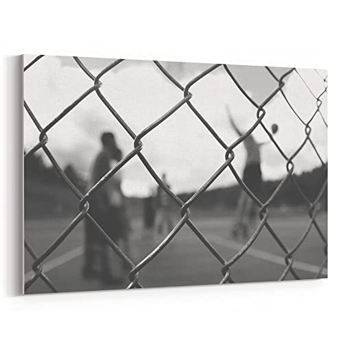 Amazon.com: Westlake Art - Canvas Print Wall Art - Wire Fencing on ...