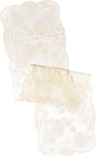 "product image for Heritage Lace Hydrangea 14""x53"" Ecru Table Runner, 14"" x 53"""