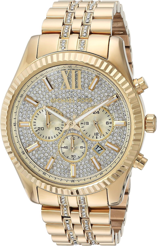 Michael Kors Men's Analog Quartz Stainless Steel Watch