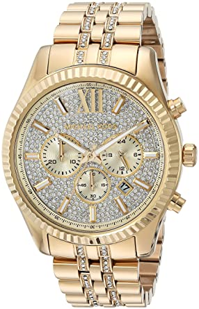 bee12e759763 Michael Kors Men s Quartz Stainless Steel Casual Watch Color Gold-Toned  (Model