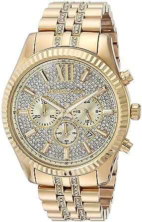 d574280c4bec9 Amazon.com  Michael Kors Men s Quartz Stainless Steel Casual Watch Color  Gold-Toned (Model  MK8579)  Michael Kors  Watches