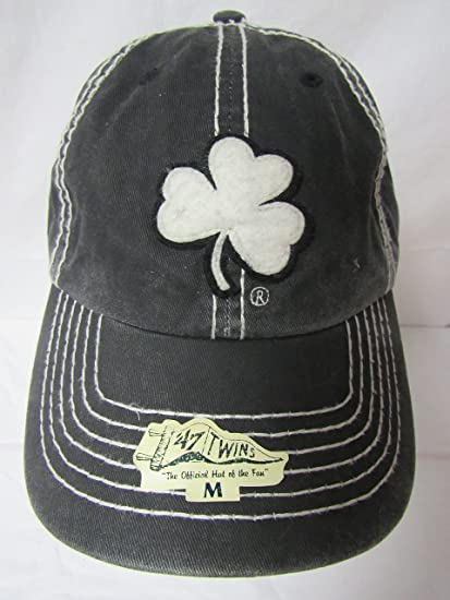 official photos fb57e e7b80 get green notre dame clover hat 2eae3 f4723  free shipping 47 twins notre  dame fighting irish size medium notre dame nirvana ncaa franchise clover