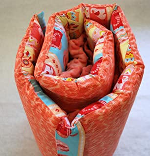 product image for Boho Baby Coral Quilted Nap Mat