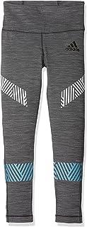 adidas YG TR ULT Calzemaglie, Grigio (Grpuch/Nero), 134