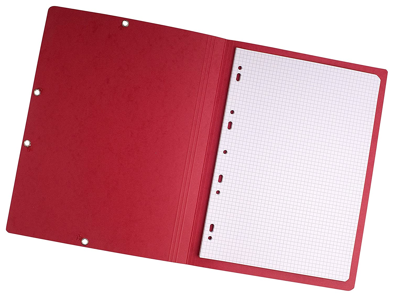 /Confezione da 100/cartelline Forever/® 180/foglio rosso Exacompta 420312e/ colore