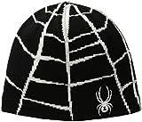 Spyder Boys Mini Web Hat, Black/Cirrus, One Size