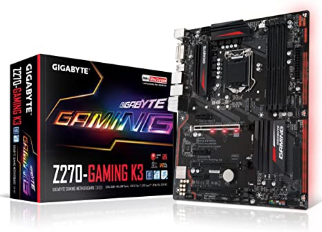 GIGABYTE GA-Z270-Gaming K3 LGA1151 Intel 2-Way Crossfire ATX DDR4 Motherboard