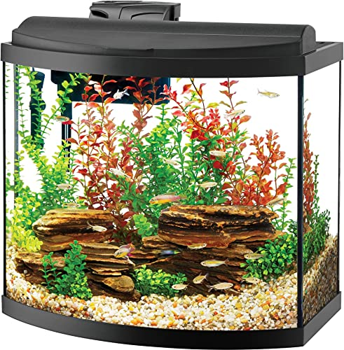 Aqueon Deluxe LED bow front 26 gallon