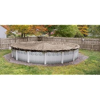 Amazon Com Robelle 6024 4 Superior Winter Pool Cover For