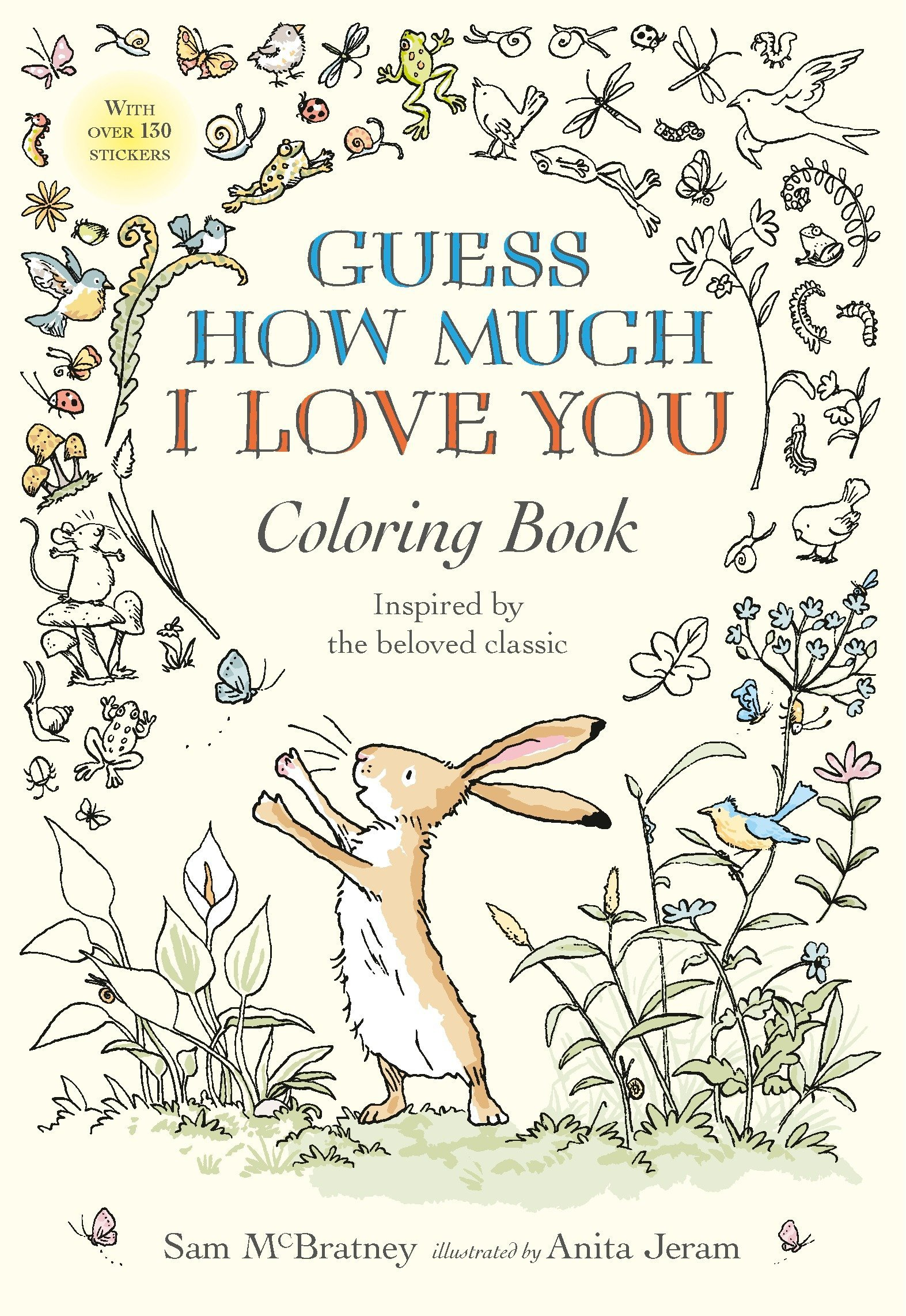 Amazon Guess How Much I Love You Coloring Book 9780763694678 Sam McBratney Anita Jeram Books