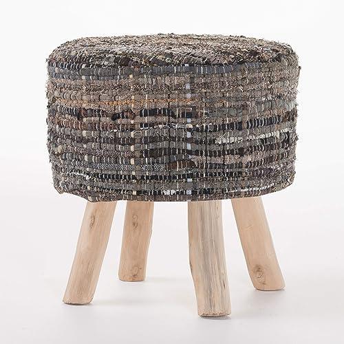 Christopher Knight Home Harris Fabric Round Stool