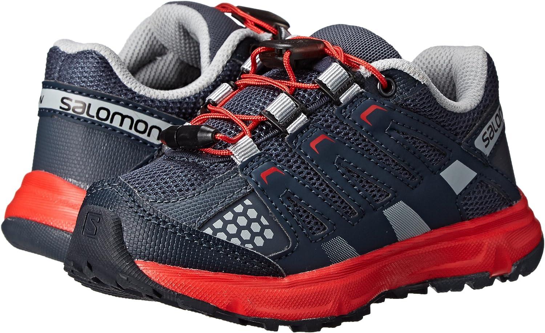 SalomonXR Mission K - Zapatillas de Running para Asfalto Niños-Niñas, Color Gris, Talla 27: Amazon.es: Zapatos y complementos