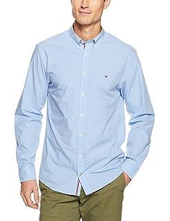 2d2f6ec7b3ff Tommy Hilfiger Men s Dashing Check Long Sleeve Shirt  Amazon.com.au ...