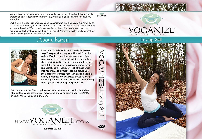Amazon.com: Yoganize Loving Self Yoga DVD for Youth and Vitality ...