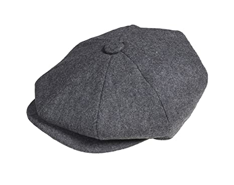 35d28a7c7433 Peaky Blinders 8 Piece 'Newsboy' Style Flat Cap -100% Cotton Colour  Variations