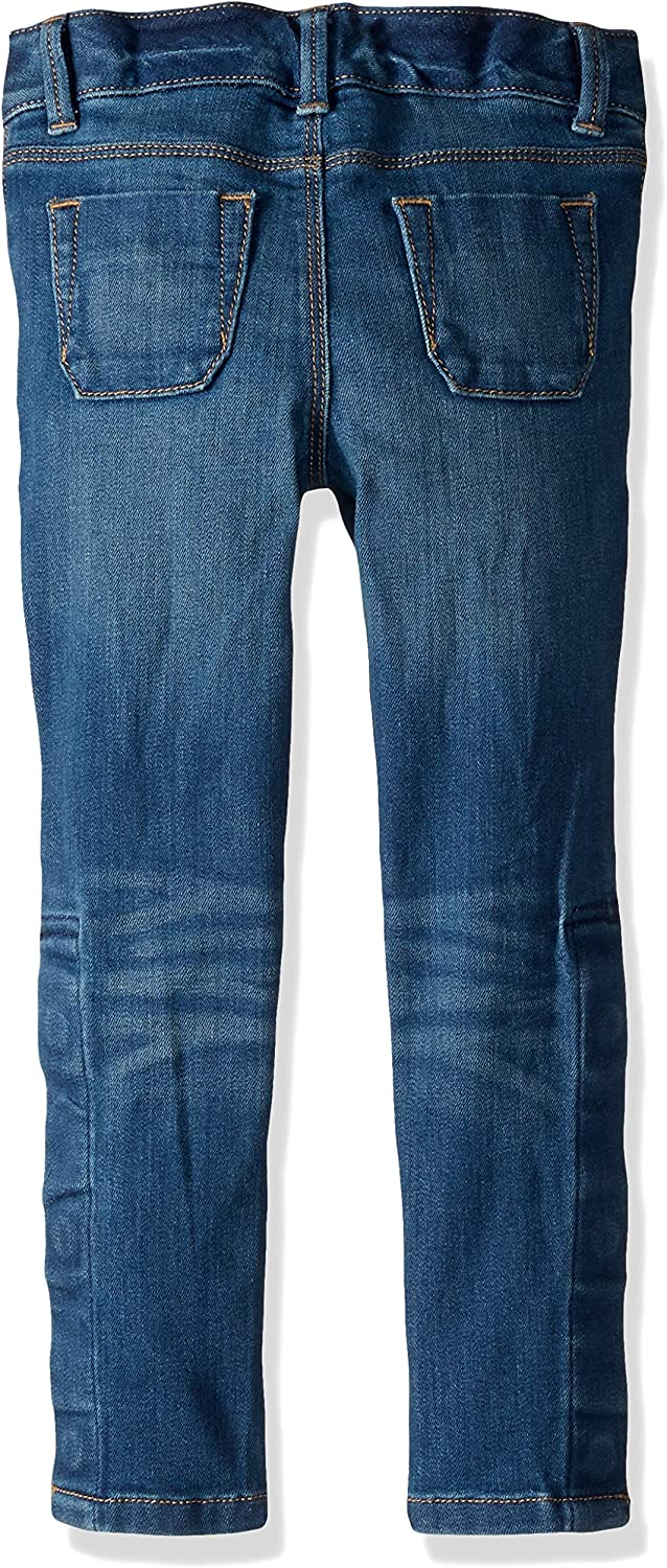 Tommy Hilfiger Girls Skinny Jeans with Adjustable Waist and Velcro Magnet Buttons
