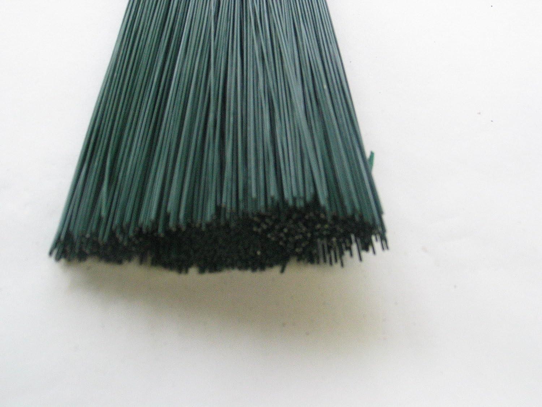 Alambre ranuras de 100unidades, alambre, verde, 0,8mm x 300mm, alambre