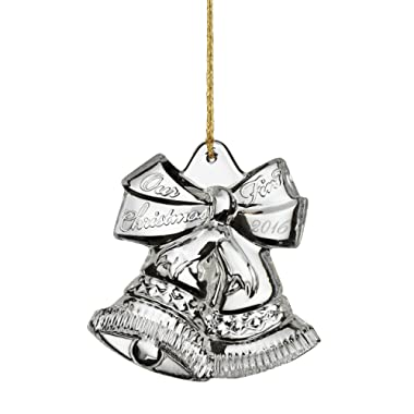 Marquis By Waterford Our First Christmas Ornament 3.75in