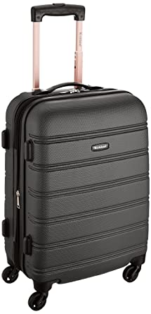 Amazon.com | Rockland Luggage Melbourne 20 Inch Expandable Abs ...