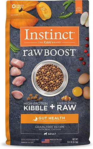 Instinct Raw Boost Grain Free Recipe Natural Dry Dog Food Made