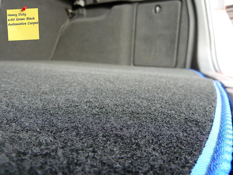 Premium Black with Black Trim Connected Essentials CEM650 Car Mat Set