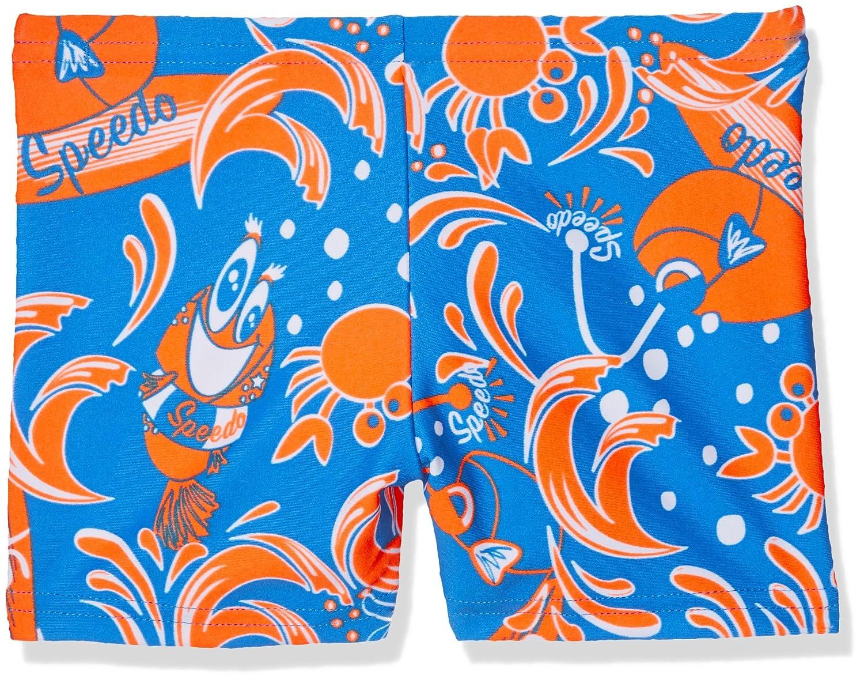 Speedo Solarpop Essential Allover Costume da Bagno Bambino