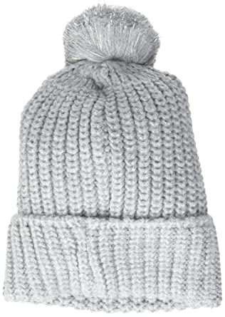 Levi s Women s Lurex Beanie (Light Grey) 852eddf10571