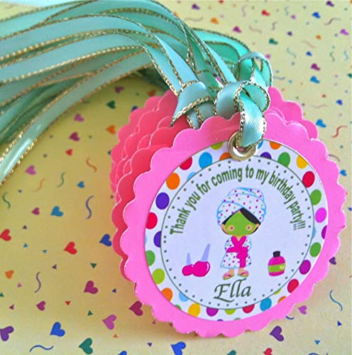 12 Personalize Tags Palace Party Favor Tags