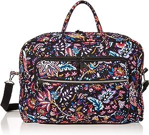 Vera Bradley Signature Cotton Grand Weekender Travel Bag, Foxwood