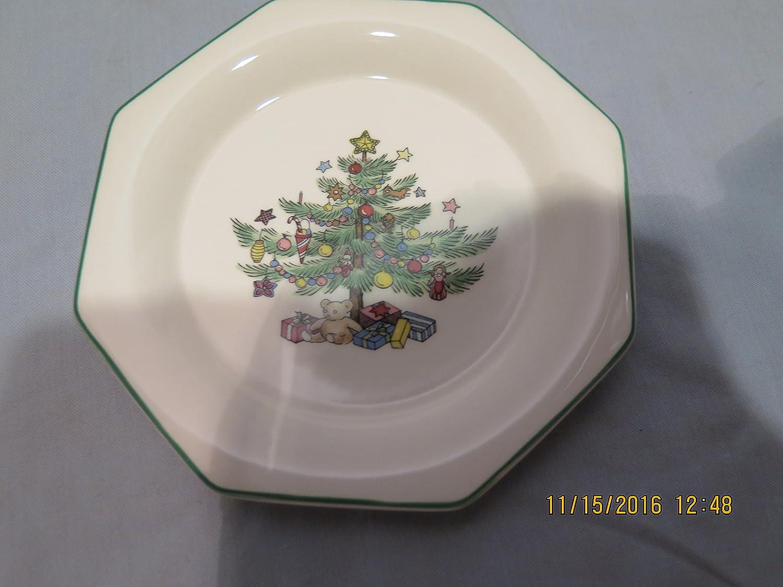 Amazon.com | Nikko Christmastime Snack Dish/coaster Set of 4: Other ...