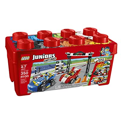 LEGO Juniors 10673 Race Car Rally: Toys & Games