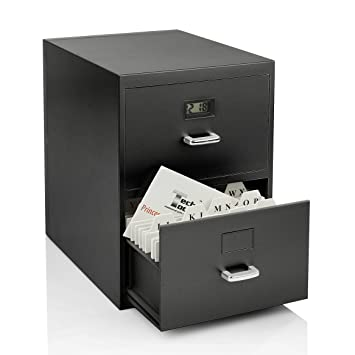 Amazon miniature file cabinet for business cards with built in miniature file cabinet for business cards with built in digital clock pi 9617 colourmoves