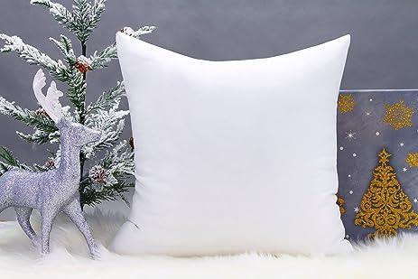 "Amazon Premium 18""x18"" White Cotton Feel MicroFiber Square"