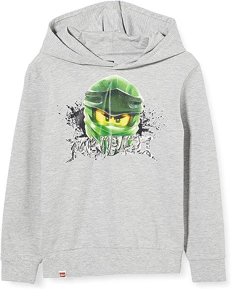 neu Gr.116 Jungen 6 jahre green Ninja Lego Ninjago Kapuzenpullover original