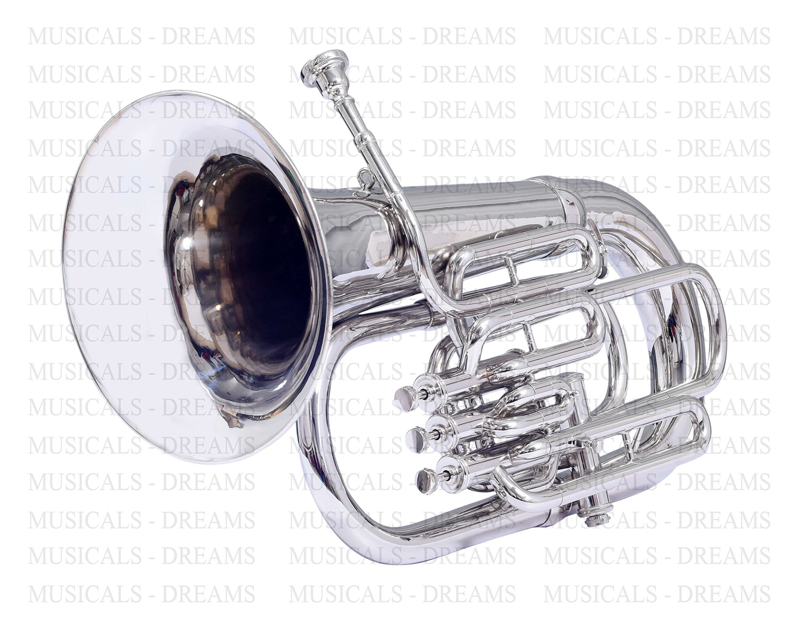 Moonflag Bb Euphonium Nickel 4 Valve by NASIR ALI (Image #1)