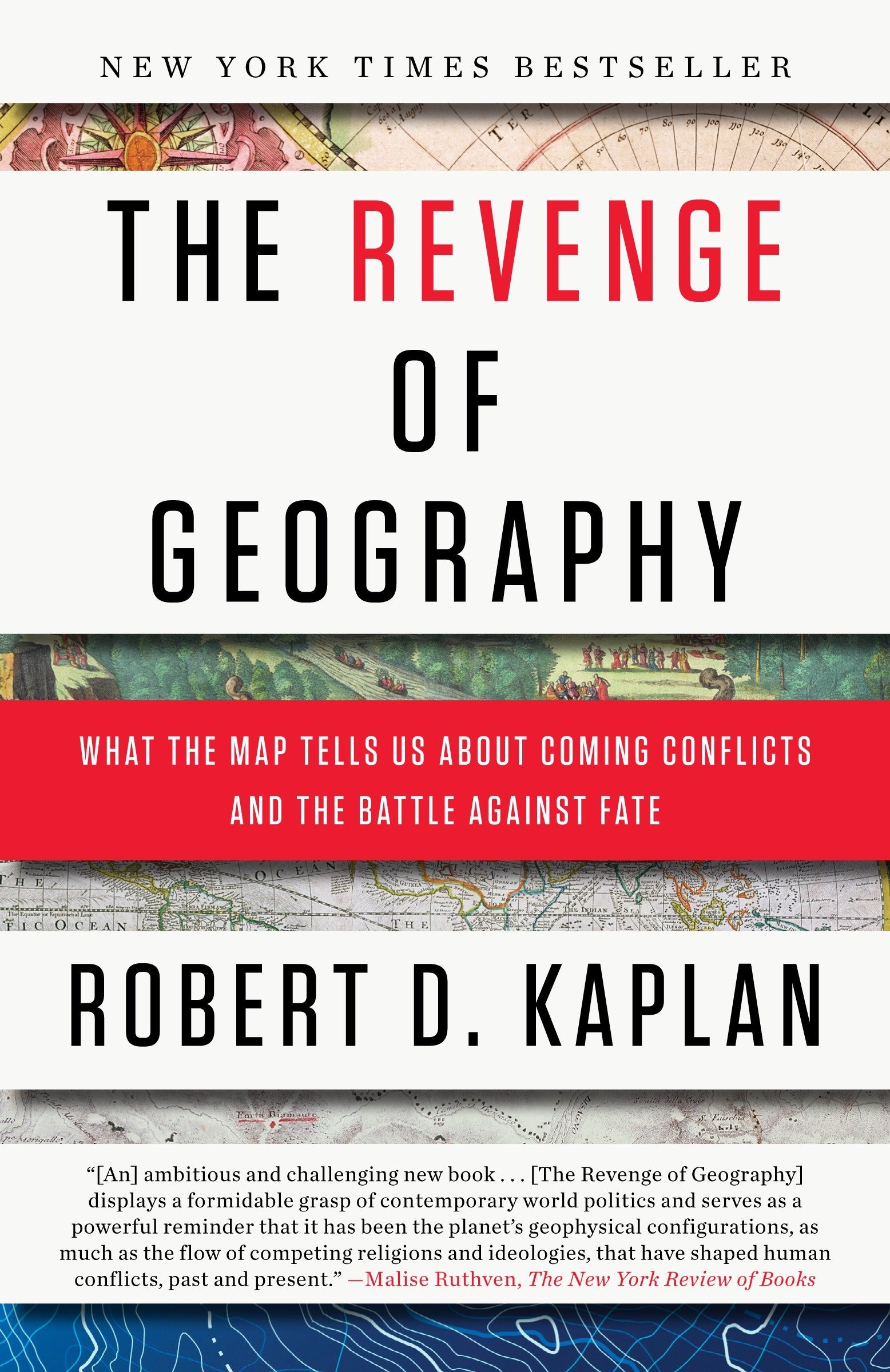 The cover for the Revenge of Geography