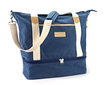 51f17fb078e1 Image Unavailable. Image not available for. Color  Kozier Women s Canvas  Travel Tote Bag