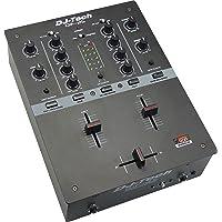 DJ Tech DIF-2S 2ch Scratch Mixer - Black