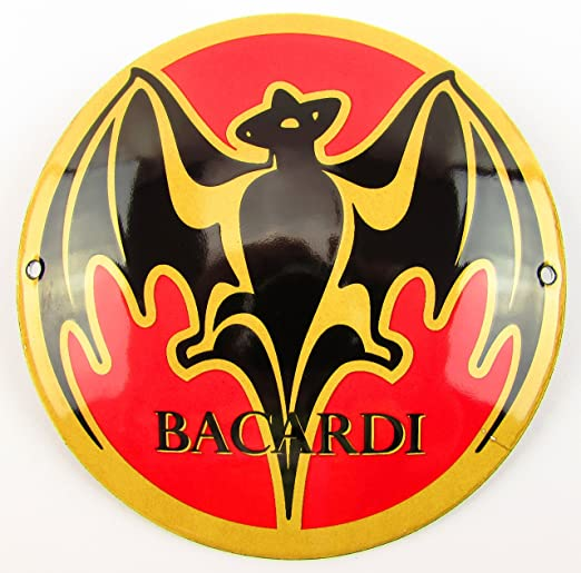 NUEVO BBV Emaille - Cartel (Bacardi - 12 cm redondo, Classic ...
