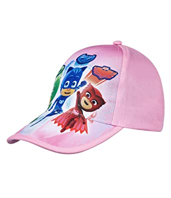 0d6b09a2 PJ Masks Girls Baseball cap - pink: Amazon.co.uk: Clothing