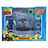 Wild Kratts - Activate Creature Power - 4-Pack Action Figure Set - Swimmers