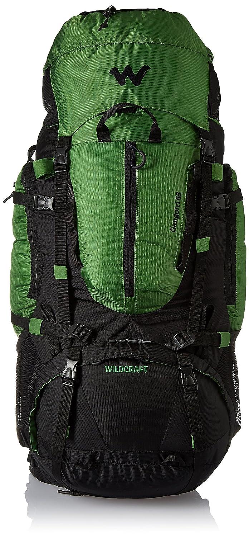 Wildcraft, 65 ltrs Green Hiking Backpack (Gangotri Plus Green)