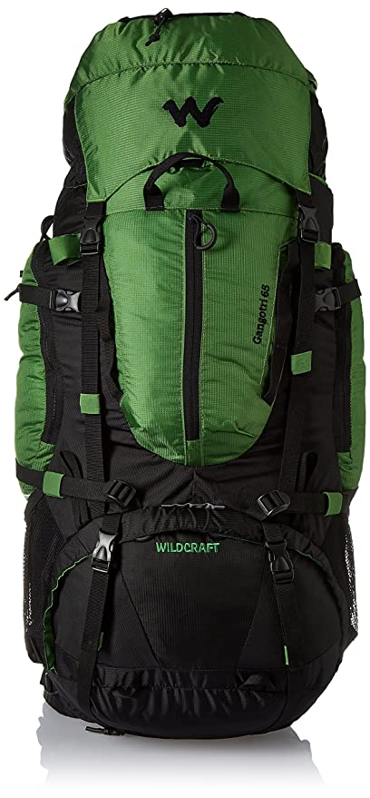 af293f7bcd Image Unavailable. Image not available for. Colour  Wildcraft 65 ltrs Green  Hiking Backpack ...