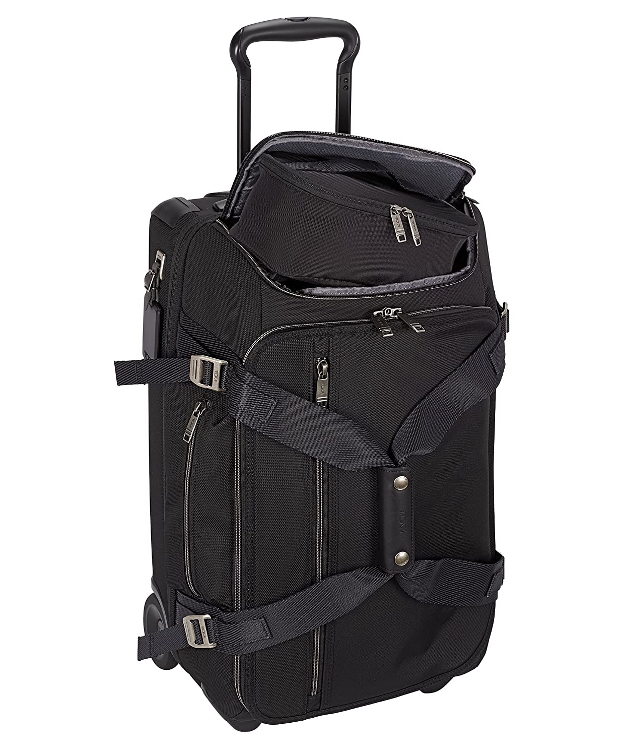 Amazon.com   Tumi Merge Wheeled Duffel Carry-on Luggage, Black Contrast    Carry-Ons f2762063eb